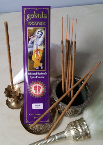 Musk & Amber Incense Sticks - 20 grams
